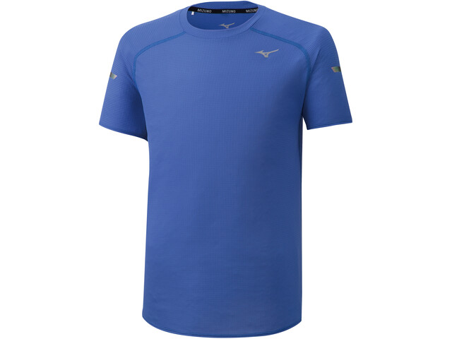 Mizuno DryAeroFlow T-Shirt Homme, dazzling blue